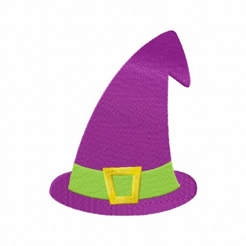Witches Hat Stitched 5_5 Inch
