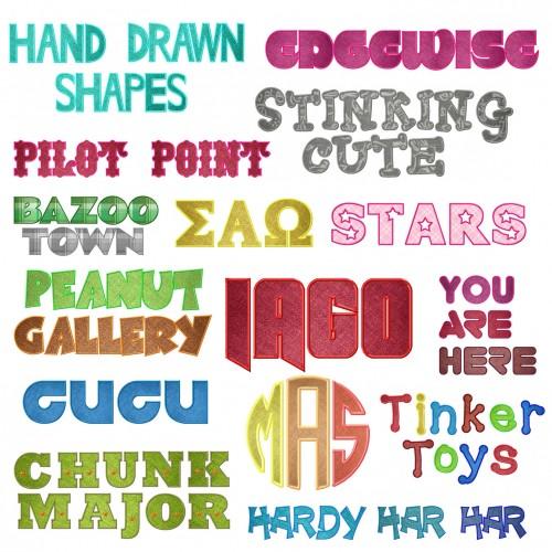 Applique-Font-Deal-Main-Image