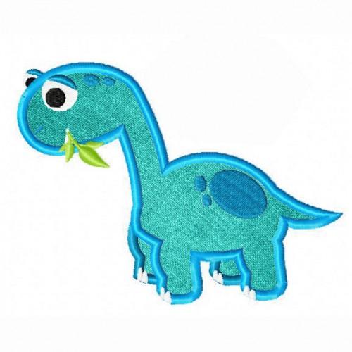 Dino-Bronto-Applique