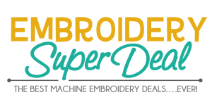 Embroidery Super Deal