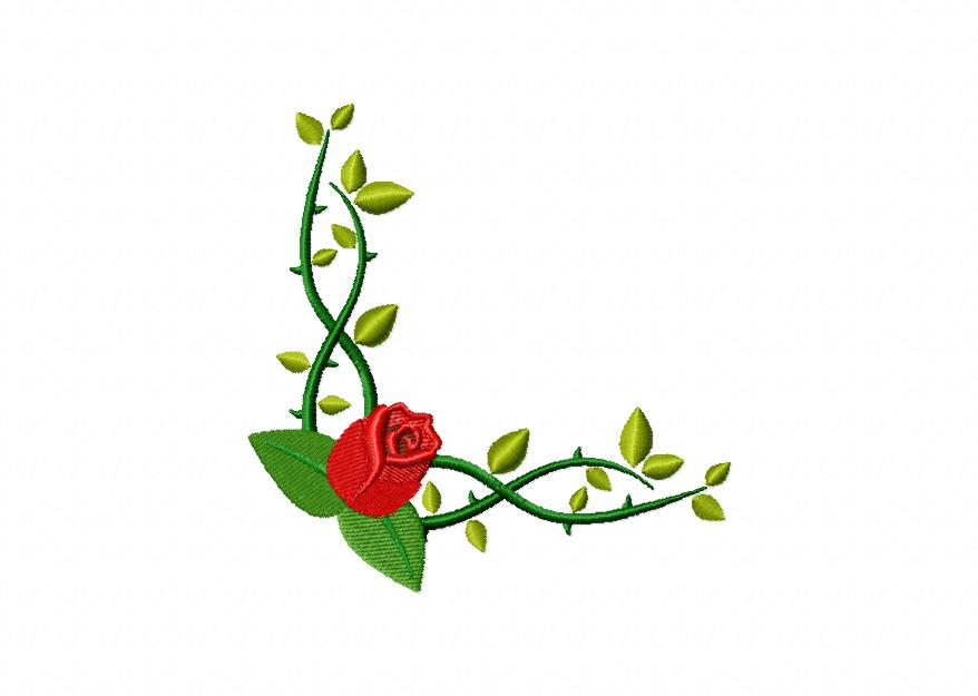 35 Borders and Corners Floral Designs Entire Package Only ...