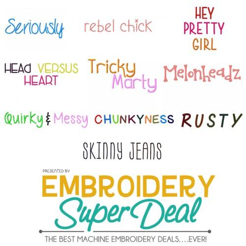 10 Fonts Main