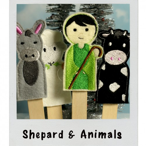 Puppet Shepard and Animals