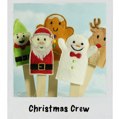 polaroid-christmas puppets