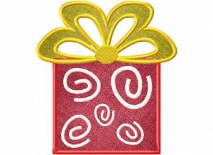 Artsy Christmas 10 (Applique) 6_5 in