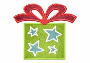 Artsy Christmas 11 (Applique) 6_5 in