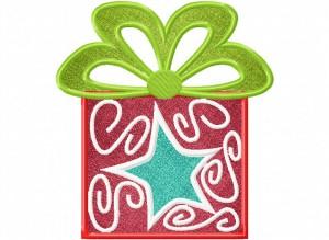 Artsy Christmas 12 (Applique) 6_5 in