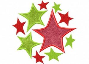 Artsy Christmas 8 (Applique) 6_5 in