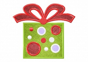 Artsy Christmas 9 (Applique) 6_5 in