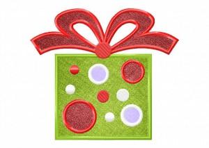 Artsy Christmas 9 (Applique) 6_5 in