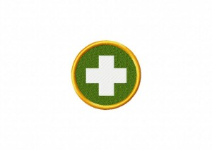 First Aid Badge