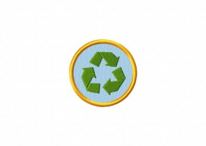 Recycle Badge