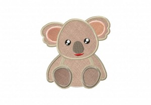 Cutesy-Koala-Applique-5x7-Inch