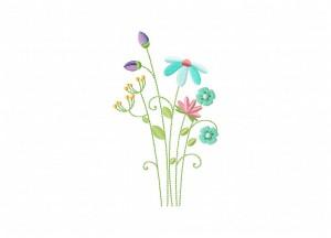 Field Flowers 5_5 Inch