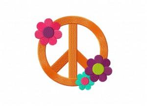 Flower Peace 5_5 Inch
