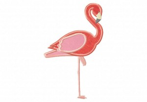 Graceful-Flamingo-Applique-5x7-Inch