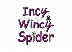 Incy Wincy Spider Stitched 5_5