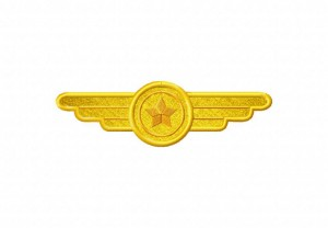 Pilot-Badge-Applique-5x7-Inch