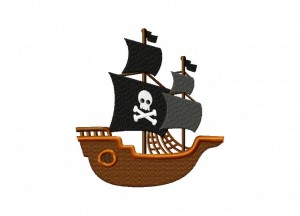 Pirate Ship 5_5 Inch