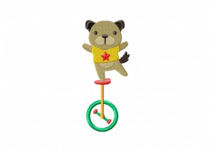 Unicycle Dog Stitched 5_5