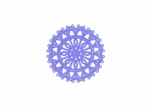 21 Tatted Doily 1