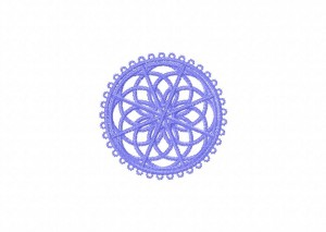 24 Tatted Doily 4