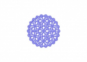 25 Tatted Doily 5
