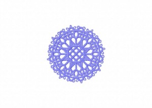29 Tatted Doily 9