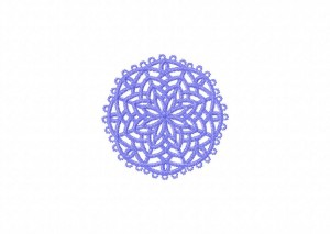30 Tatted Doily 10