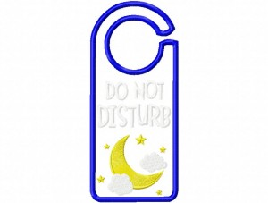 Door Hanger 02 Do Not Disturb