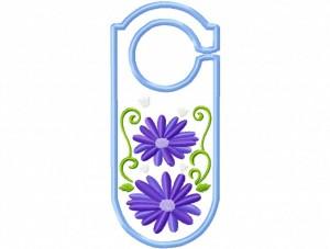 Door Hanger 11 Floral