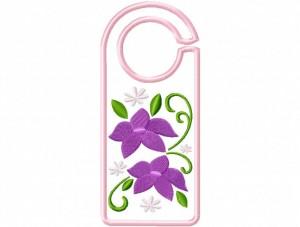 Door Hanger 12 Floral