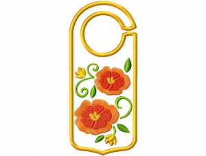 Door Hanger 13 Floral