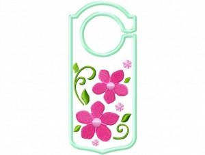 Door Hanger 14 Floral