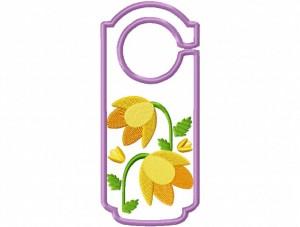 Door Hanger 15 Floral