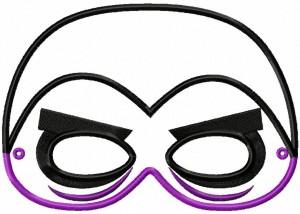 Image Drac Mask 6X10 Inch Hoop