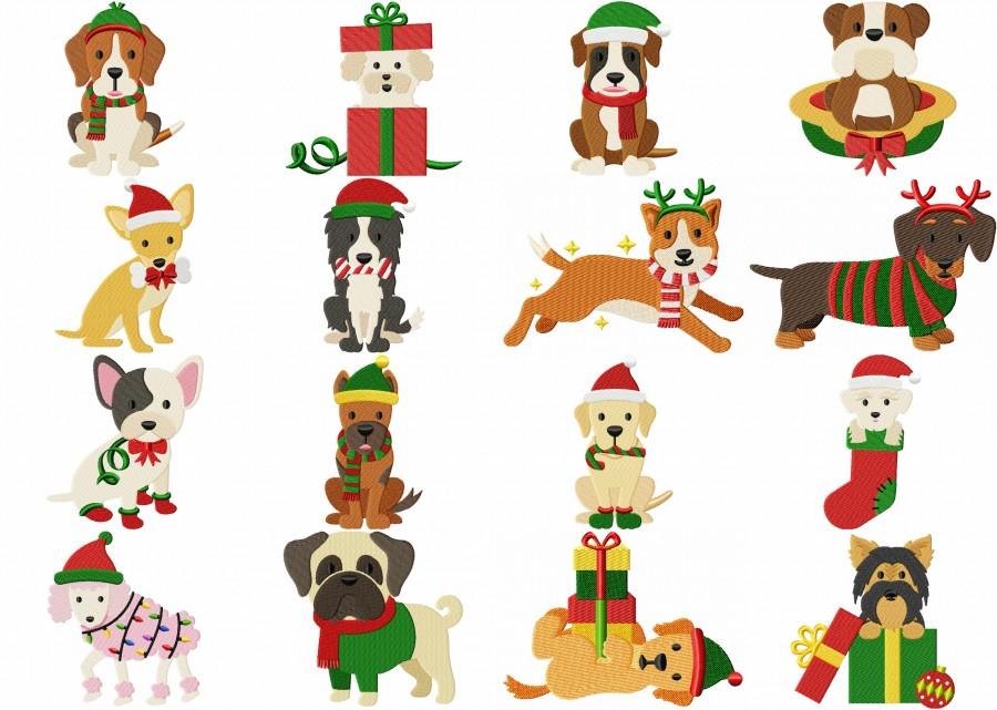 Dog Breed Christmas Main