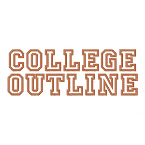 COLLEGEOUTLINEEXAMPLE