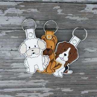 Key Fobs from the 70 Dog Designs Collection!