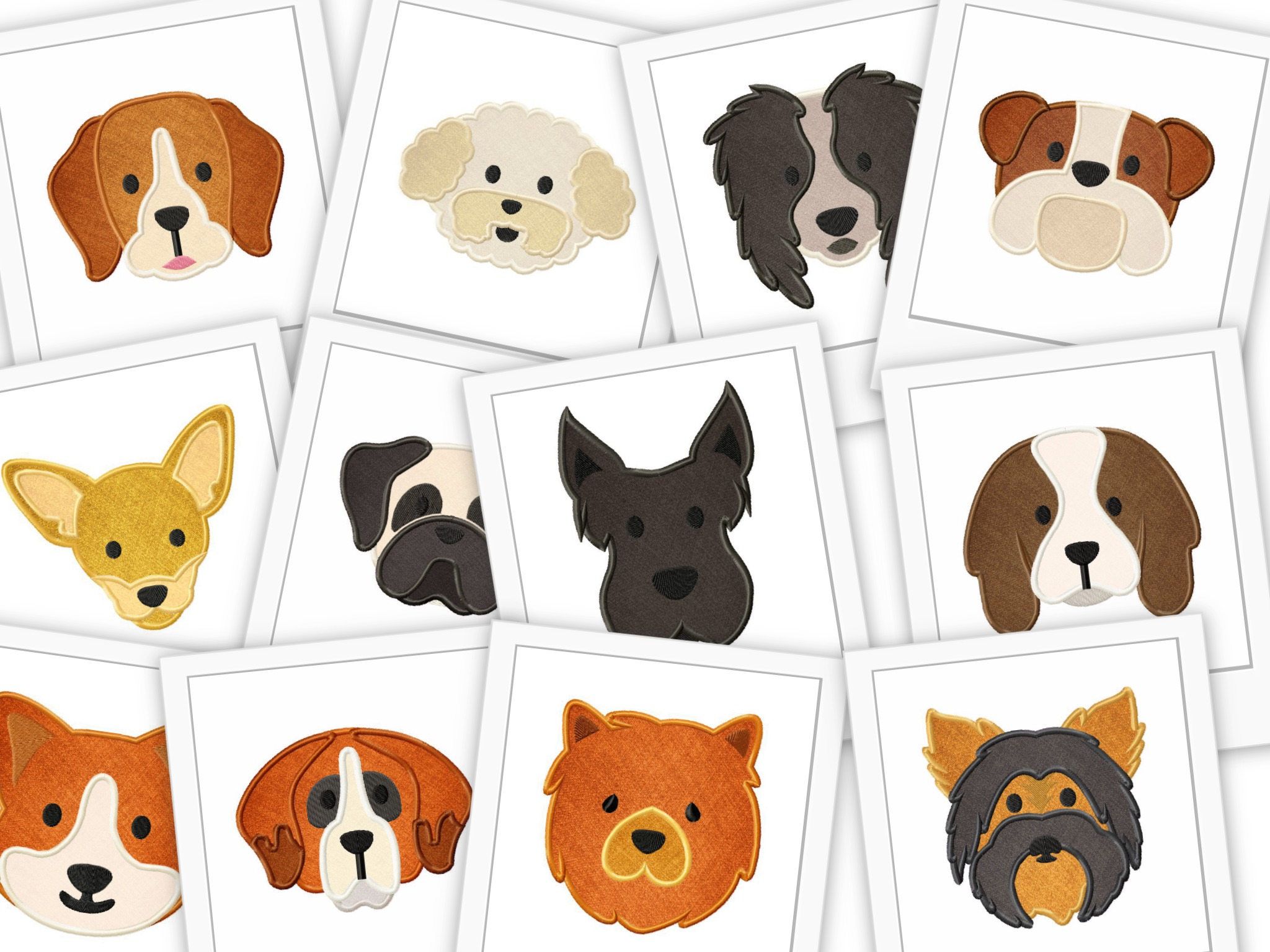 Free Dog Applique Designs