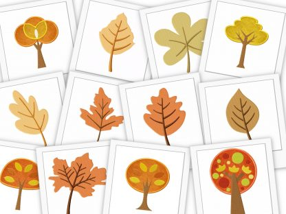 Fall's Gold - Collection of 52 Autumn Themed Designs